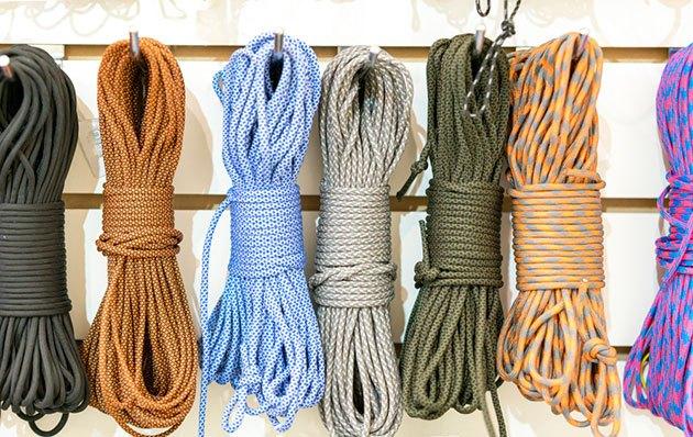 paracord hammock straps